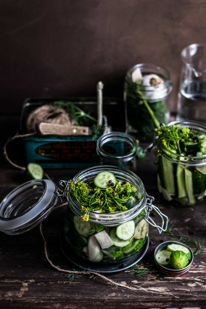 5 Super Easy Recipes To Make Healthy And Delicious Lacto-fermented Veggies.